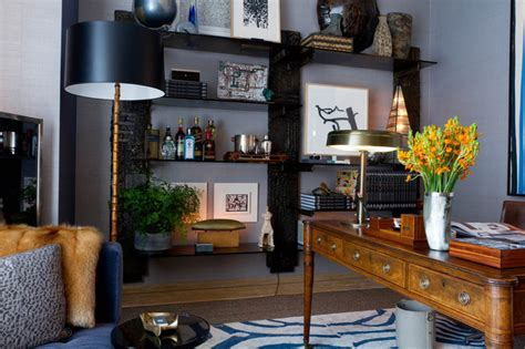 Gentleman's Study: David Scott Interiors   Contemporary