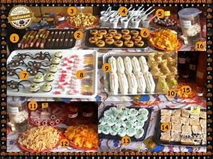 Buffet Halloween : repas et buffets d 39 halloween pour les enfants et pour ~ Dode.kayakingforconservation.com Idées de Décoration