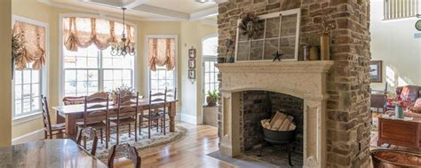 orchard cypress ridge fireplace