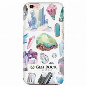 Iphone 6 6s official gem rock auctions phone case for Iphone 5s and iphone 6 may feature us designed transparent case