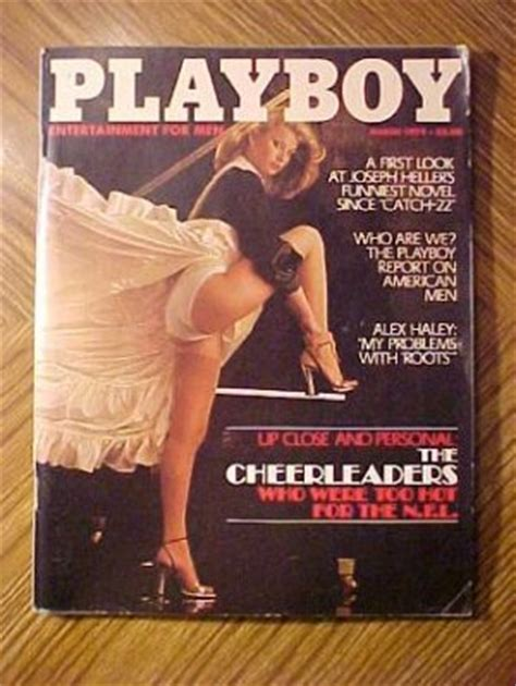Playboy Magazine March Denise Crosby Nude Cheerleaders Ted Patrick Mario Andretti