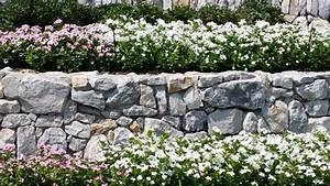 Stone, Flower, Bed, Border, Prosper, Tx
