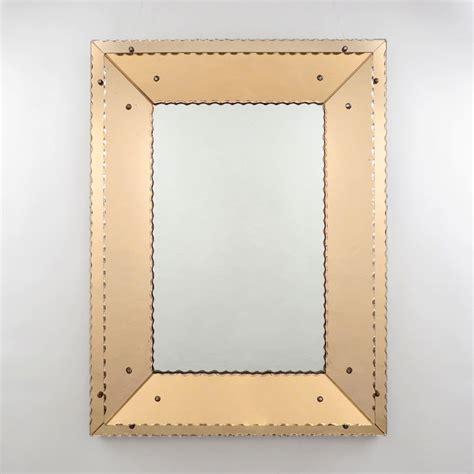 cevica fliesen händler spiegel deco spiegel in donkere houten lijst deco verkocht le brocant age deco