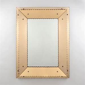 Spiegel Art Deco : belgischer art deco spiegel bei pamono kaufen ~ Whattoseeinmadrid.com Haus und Dekorationen