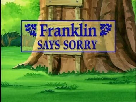 Franklin Says Sorry | Nelvana Wiki | FANDOM powered by Wikia