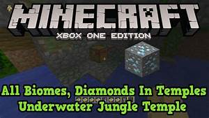Minecraft Xbox One PS4 Seed 5 Desert Temples All Biomes