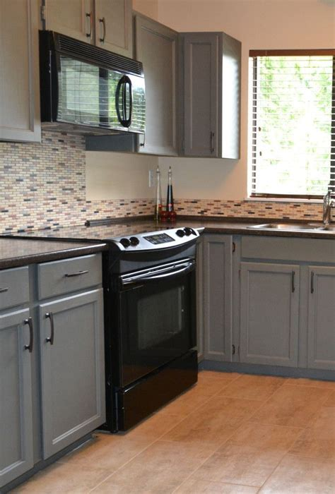how to install a backsplash in the kitchen black appliances and white or gray cabinets how to make 9752