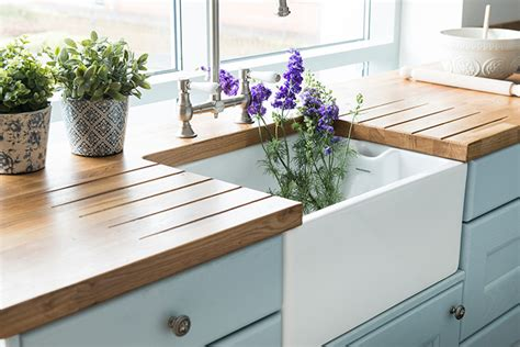 how do you replace a kitchen sink how to install belfast sinks in oak kitchens solid wood 9259
