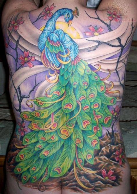 peacock tattoo images designs