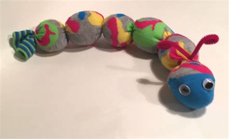 sock worm fun family crafts