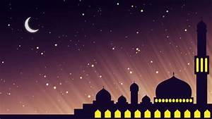 looping islamic background animation of stock footage
