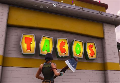 fortnite br taco shops locations