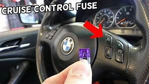 Cruise Control Fuse Location Replacement Bmw E46 325i 328i