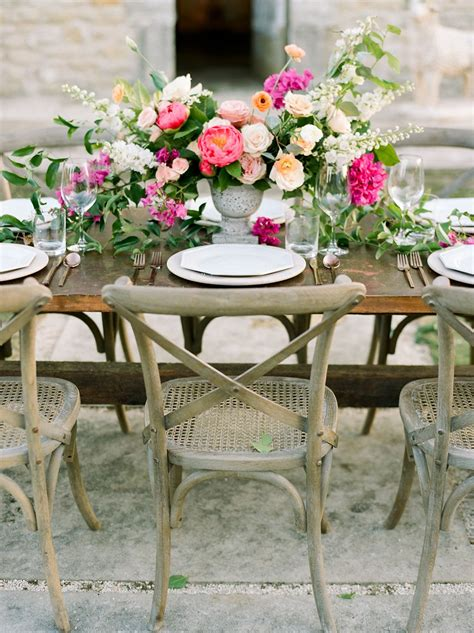 Mexico Inspired Wedding Ideas with Bougainvillea