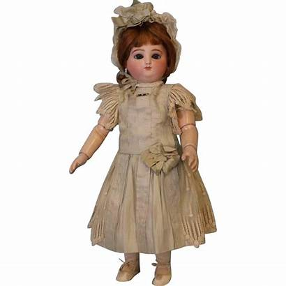 Round Face Doll Antique Steiner Dolls Inch