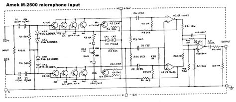 Who Have Sch For Mic Amps Diyaudio