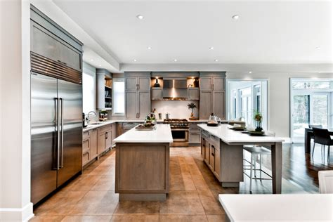 The Nottingham  Traditional  Kitchen  Montreal  By