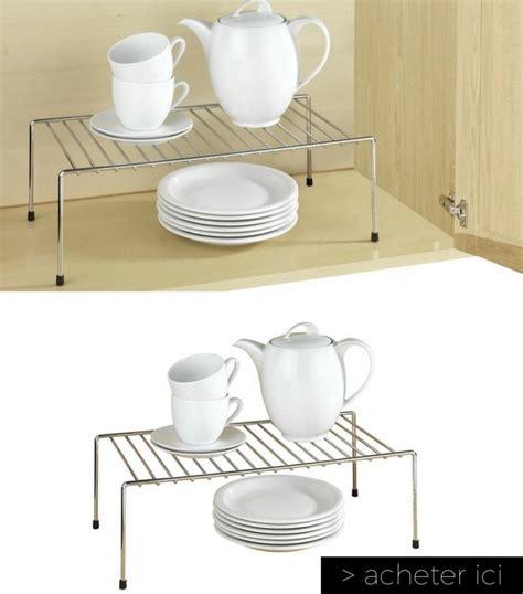 etagere pour placard cuisine 23 objets quot gain de place quot pour optimiser l 39 espace d 39 une