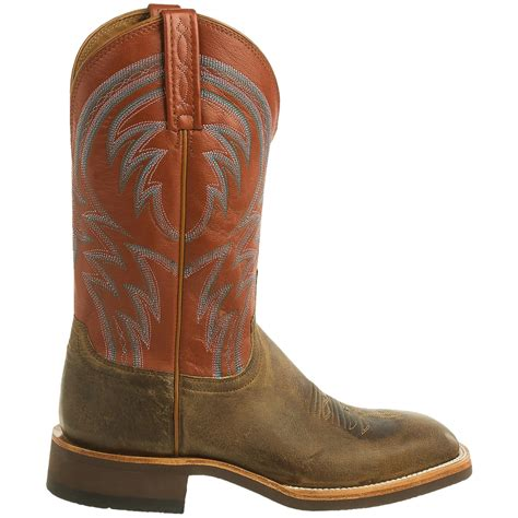 8 X 12 Area Rugs by Lucchese Alan Cowboy Boots For Men
