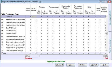 sample matrix template bing