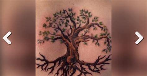 baum tattoo  tattoo ideen fuer ruecken bein arm und hand