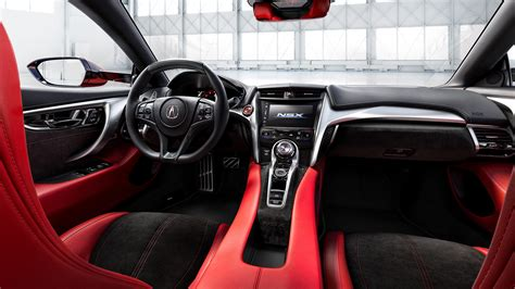 2019 Acura Nsx 4k Interior Wallpaper