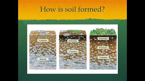 how is soil formed formation of soil