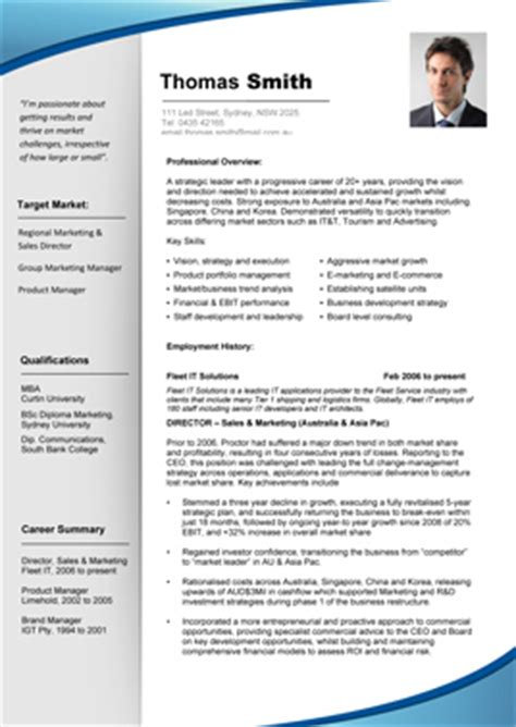 Resumes With Pictures by Professional Resume Template Cv Schablonen