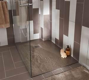 97 best salle de bains images on pinterest bathroom With porte de douche coulissante avec modele salle de bain