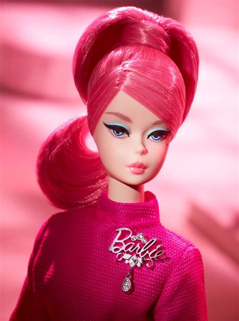 proudly pink collector barbie