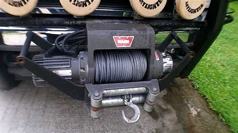 Badland Winch Wiring Setup by Warn Winch Installed In Cradle Mount Front Or Rear Mount