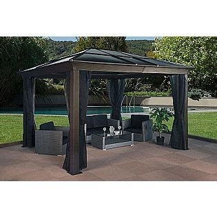 To liven up your living space.—lauren eggertsen, who what wear founded as a luxury leather goods house in 1854, louis vuitton was for many decades one of the world's leading trunk and accessories makers. 10x14 Gazebo Hard top roof | For the Home | Pinterest | Backyard, Hot tubs and Tubs