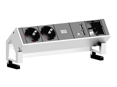 bachmann desk 2 bachmann desk 2 2x power socket outlets 1x usb charger 1x custom white 902 228