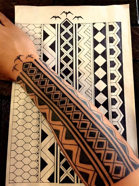 Filipino Tribal Tattoo Meanings Designs