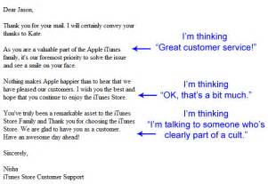 Apple Customer Service Quotes