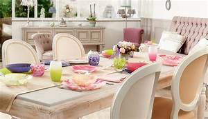 adoptez une salle a manger shabby chic le mag la table With salle a manger shabby