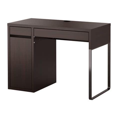 micke bureau blanc micke bureau brun noir ikea