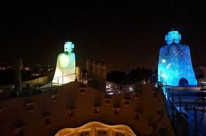 Casa Mila at night. So beautiful! - Picture of La Pedrera ...