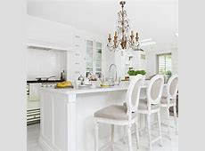 Glamorous kitchen with chandelier Decorating