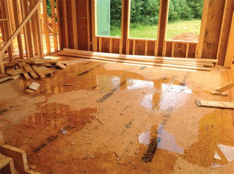 water resistant subfloor superior to moisture resistant plywood osb sheathing products huber engineered woods