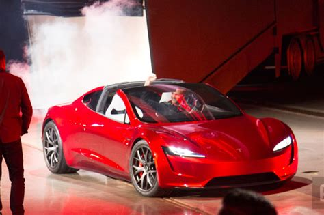 Tesla Battery 2020 by Tesla Reveals A New Roadster Due In 2020