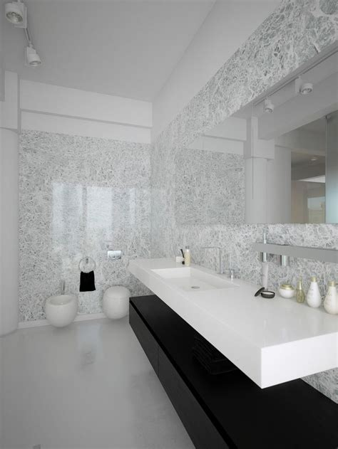 Modern Marble Bathroom by 25 Best Ideas About Black White Bathrooms On