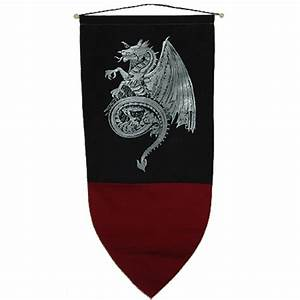 Celtic Dragon Banner - ED607 by Medieval Collectibles