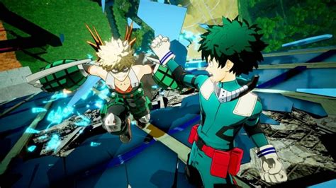 Upcoming My Hero Academia 3d Fighter Looks Rad As Hell