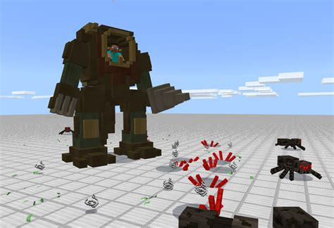 steampunk robot addon minecraft pe mods addons