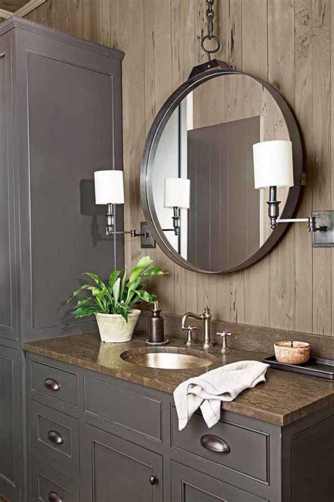 rustic cabin bathroom decor  diys rustic crafts