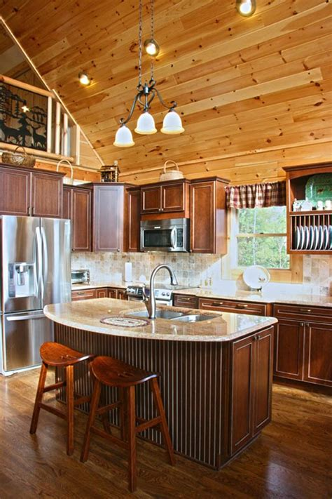 highlander log home  honest abe log homes