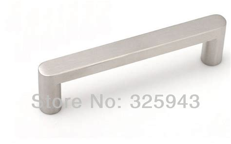 2pcs 128mm Brushed Nickel Bedroom Furniture Hardware Door