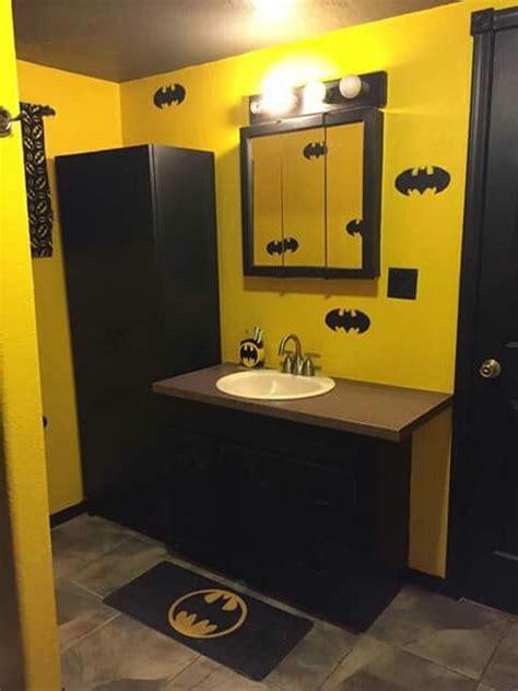 batman bathroom ideas  pinterest