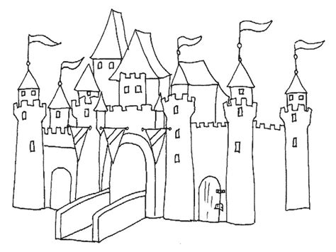 disegni da colorare 10 disegni da colorare i castelli